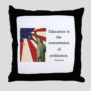 Education is the Transmission of Civilization Thro