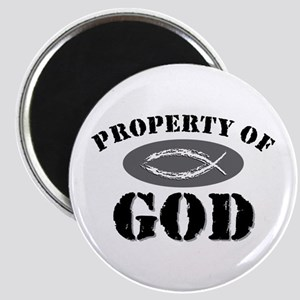 Property of God Magnet