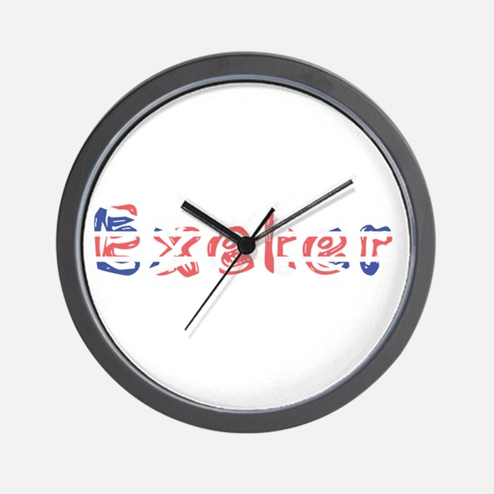 Exeter Wall Clock