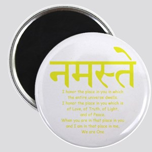 """namaste we are one 2.25"""" Magnet (10 pack)"""