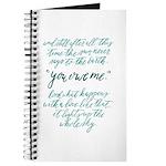You owe me Journal