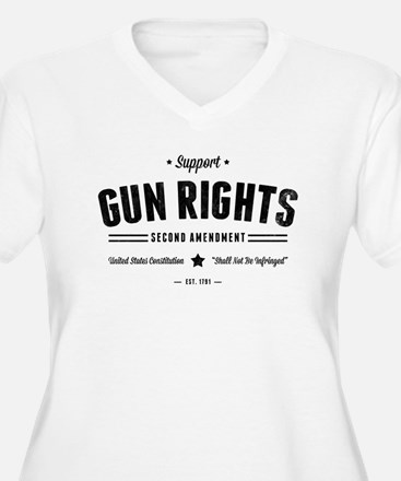 Support Gun Rights Plus Size T-Shirt