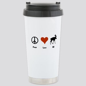 Peace Love New Hampshire Stainless Steel Travel Mu
