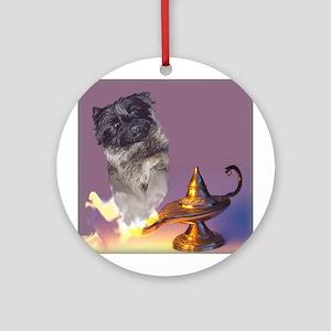 """Cairn Terrier """"Genie"""" Ornament (Round)"""