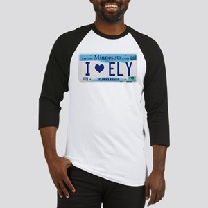 Ely License Plate Baseball Jersey