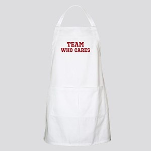 Team Who Cares Apron