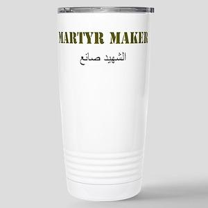 Martyr Maker Olive Drab Stainless Steel Travel Mug