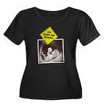 Fit baby - dumbell Women's Plus Size Scoop Neck Da