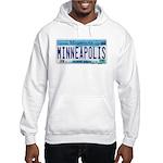 Minneapolis License Hooded Sweatshirt