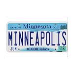 Minneapolis License Mini Poster Print