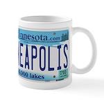 Minneapolis License Mug