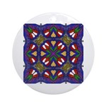 Digital Mandala Ornament (Round)