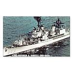 USS ARNOLD J. ISBELL Rectangle Sticker