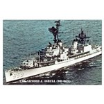 USS ARNOLD J. ISBELL Large Poster
