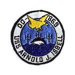 """USS ARNOLD J. ISBELL 3.5"""" Button"""