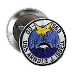 """USS ARNOLD J. ISBELL 2.25"""" Button"""