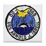 USS ARNOLD J. ISBELL Tile Coaster