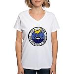 USS ARNOLD J. ISBELL Women's V-Neck T-Shirt