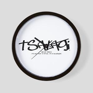 Tsalagi Tag Wall Clock