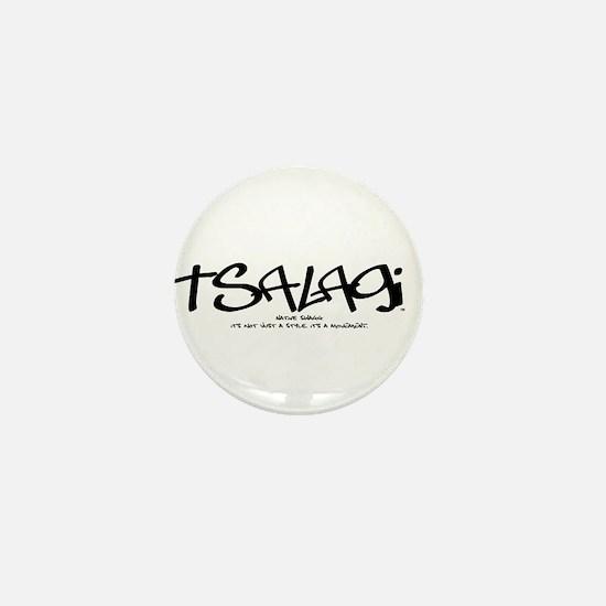 Tsalagi Tag Mini Button