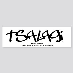Tsalagi Tag Bumper Sticker