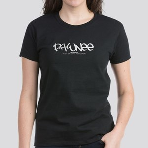 Pawnee Tag Women's Dark T-Shirt