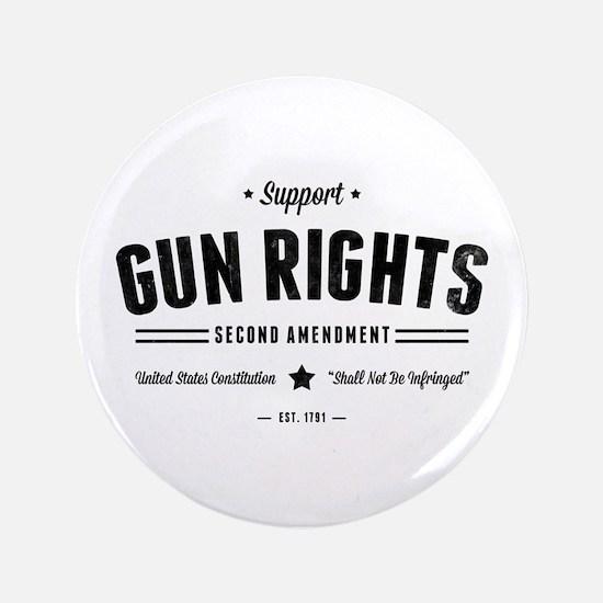 Support Gun Rights Button