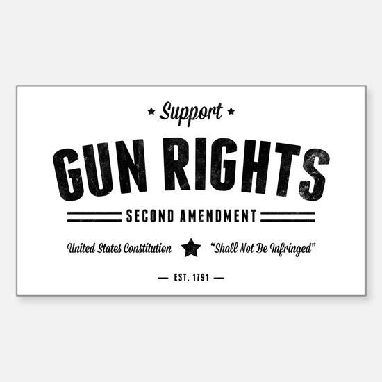 Support Gun Rights Decal