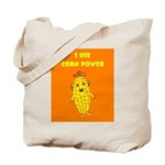I Use Corn Power Tote Bag