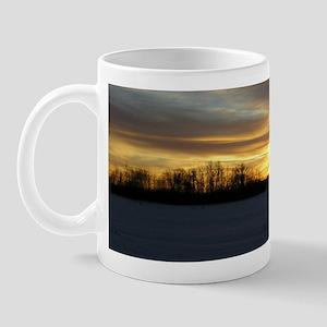 Winter Sunset 0217 Mug