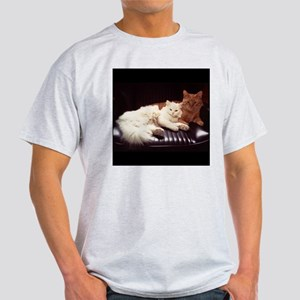 CAT LOVE/CATNIP DEALER Light T-Shirt