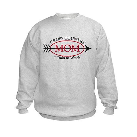 Cross Country Mom Kids Sweatshirt