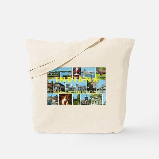 1960's Indiana Scenes Tote Bag