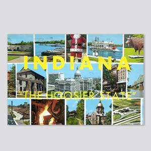 1960's Indiana Scenes Postcards (Package of 8)