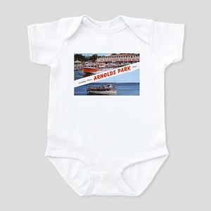 1958 Views of Arnolds Park Infant Bodysuit