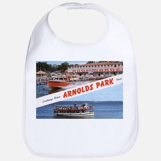 1958 Views of Arnolds Park Bib