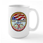 USS ALABAMA Large Mug