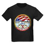 USS ALABAMA Kids Dark T-Shirt