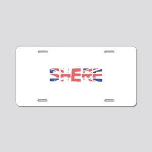 Shere Aluminum License Plate