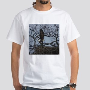 Llano County American bald eagle White T-Shirt
