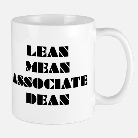 Lean Mean Associate Dean Mug