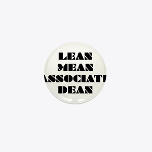 Lean Mean Associate Dean Mini Button