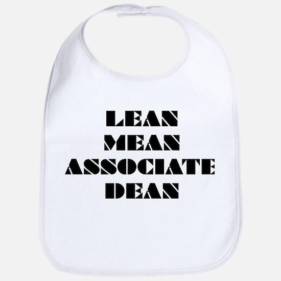 Lean Mean Associate Dean Bib
