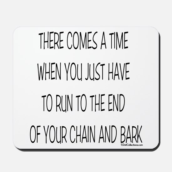 End of Chain Mousepad