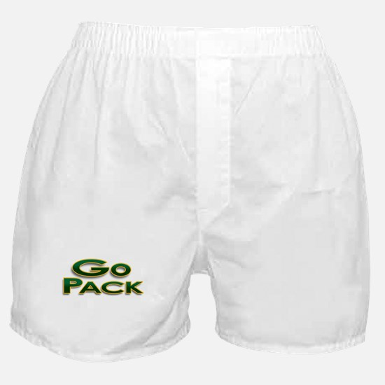 Go Pack! Green Bay Graphic T- Boxer Shorts