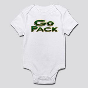 Go Pack! Green Bay Graphic T- Infant Bodysuit