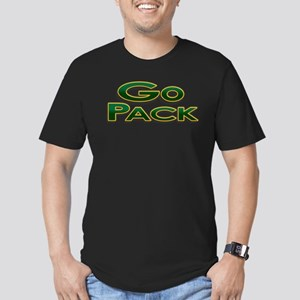 Go Pack! Green Bay Graphic T- Men's Fitted T-Shirt