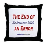 """""""End of an Error"""" Throw Pillow"""