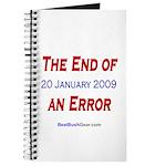 """""""End of an Error"""" Journal"""