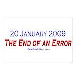 """End of an Error"" Postcards (8)"